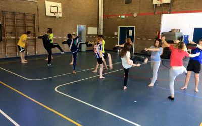 Taekwondo workshop in Steenwijk