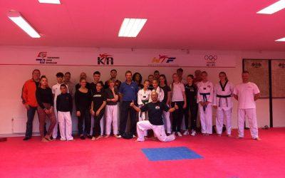 Trainingskamp taekwondo tussen Belgie en Nederland zeer succesvol verlopen