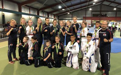 14 medaille voor KTA tijdens het internationaal toernooi te Leusden