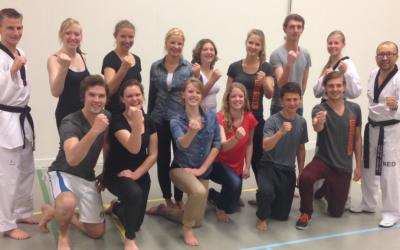 Zelfverdediging workshop studenten Bewegingswetenschappen