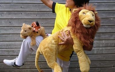 Lion Kids training