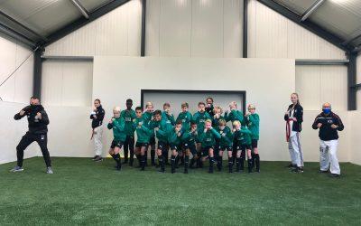 KTA te gast bij jeugd FC groningen