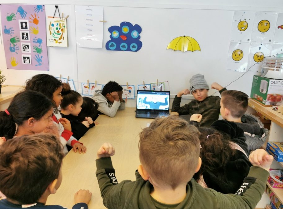 Kinderinterview SKSG met hoofdtrainer Habib Kazemi