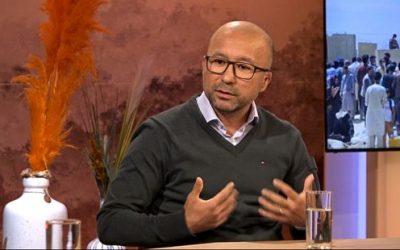 Habib Kazemi bij RTV Noord 'Ik herbeleef alles, maar nu vanaf mijn veilige plek in Groningen'