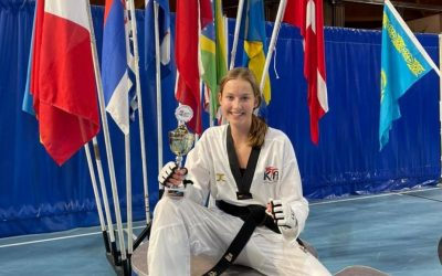 Melissa wint zilver op Dutch open